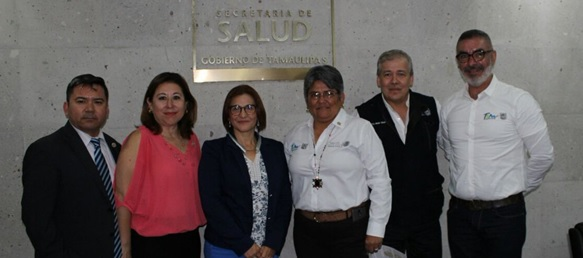 The Binational Border Health Thematic Network (BBHTN) makes an appearance in a work meeting between the secretariat of health of tamaulipas and the U.S.- Mexico Border Health Commission (USMBHC).