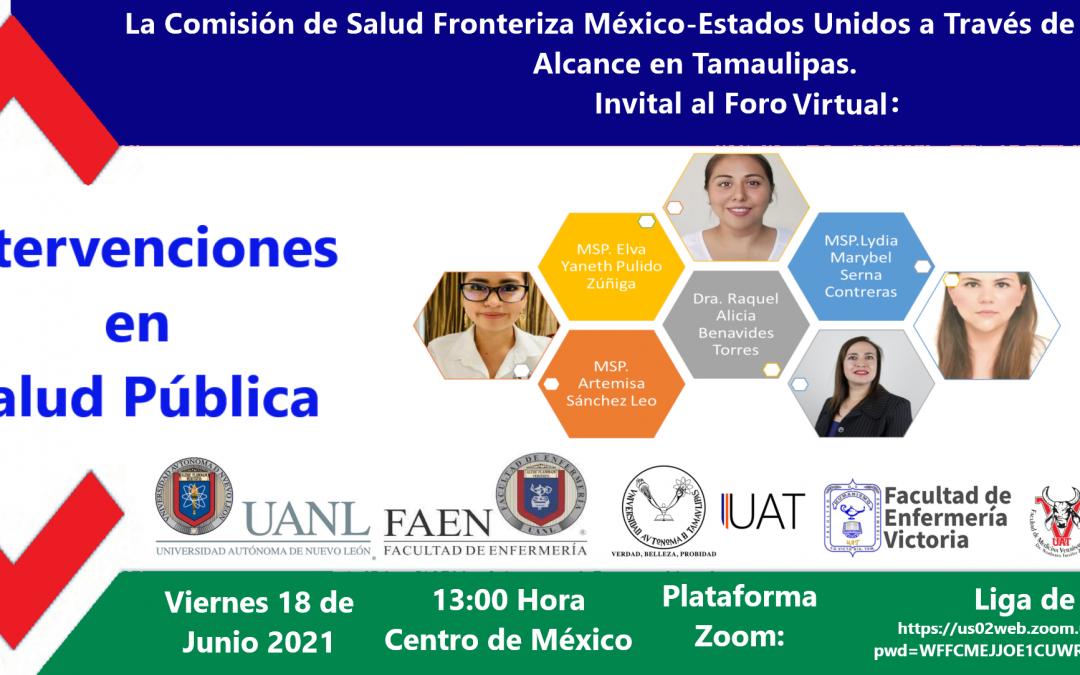 Foro Virtual: Intervenciones en Salud Pública