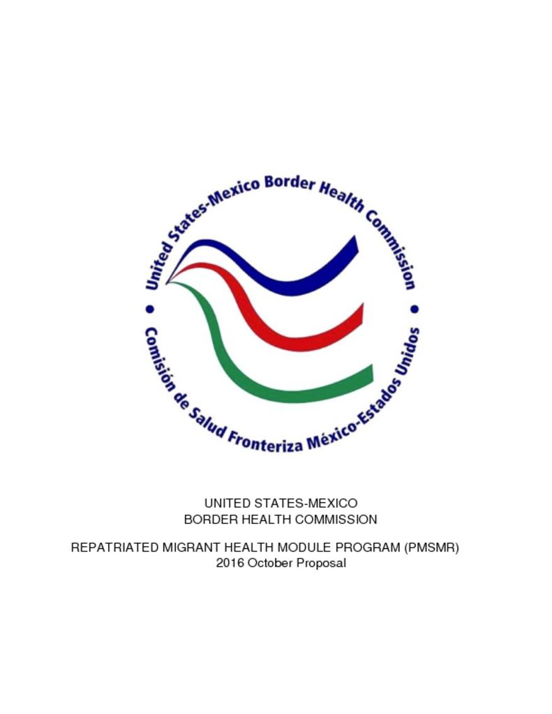 thumbnail of Repatriated Migrante Health Program